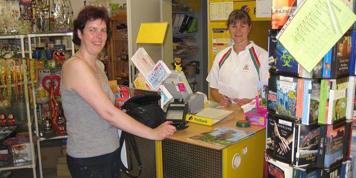 Kampf um die Postagentur
