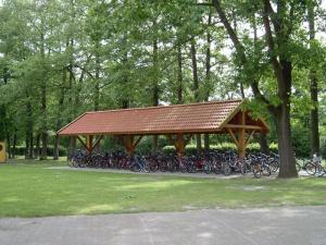 Fahrradstand Grundschule