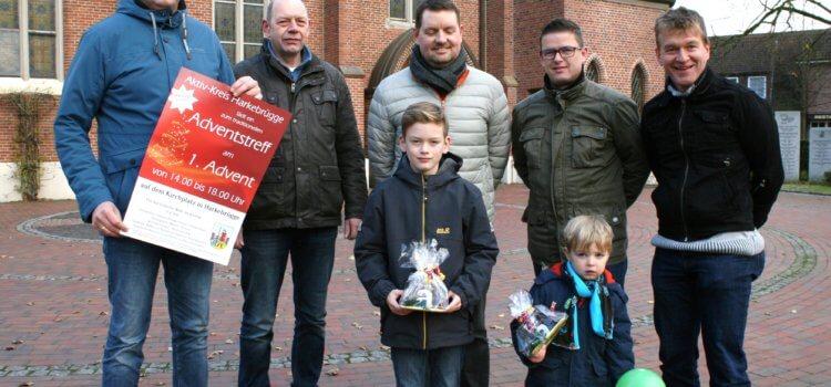 Harkebrügger Adventstreff – Gewinner Luftballonwettbewerb
