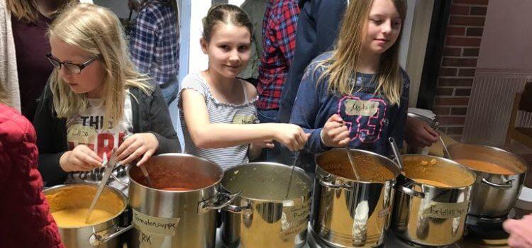 1. Suppentag der Messdiener St. Ansgar – Ein voller Erfolg