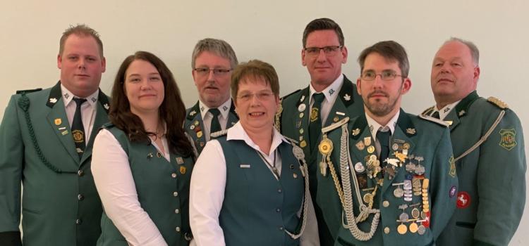 Schützenverein startet mit neuem Vorstand ins Jahr 2019