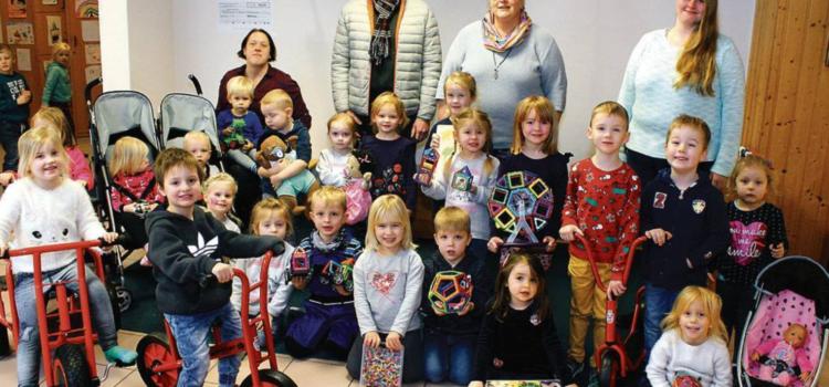 FÖFF – Neue Spielgeräte bringen Kinder zum Strahlen