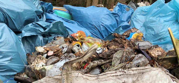Müll-Sammlung in Harkebrügge