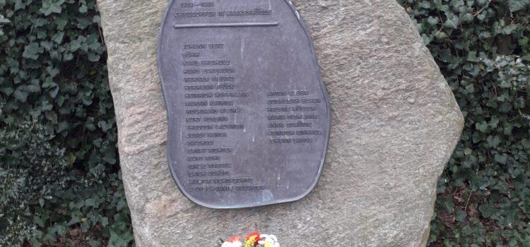 Gedenkstein erinnert an Bombenangriff